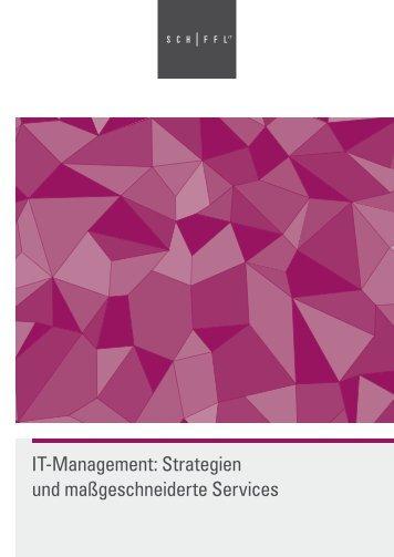 IT-Management: Strategien und maßgeschneiderte Services