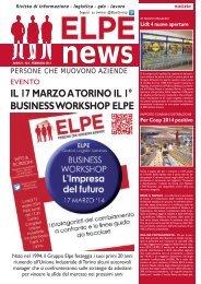 ELPE NEWS - FEBBRAIO 2014