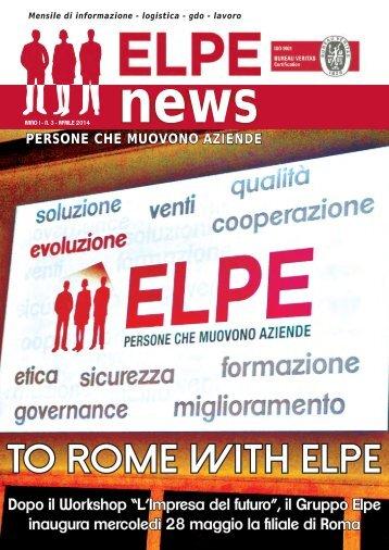 ELPE NEWS - APRILE 2014