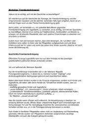 Workshop zur Fremdunterbringung von Anja Zehnpfund