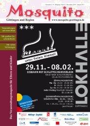 Göttingen und Region Das Veranstaltungsmagazin für Eltern und Kinder