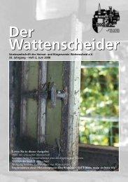 Der Wattenscheider - Heimat- und  Bürgerverein Wattenscheid