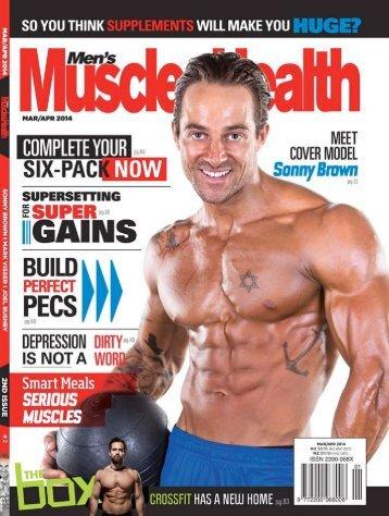 Men's Muscle Health Mar/Apr 2014 - Sonny Brown