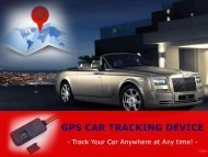 GPS Vehicle Tracking Devices – Keep Your Car Tracked!