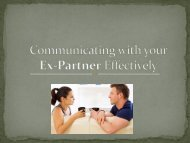 Tips to communicate with your Ex-Partner Effectively