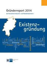 Existenzgründung - Der Gründerreport 2014