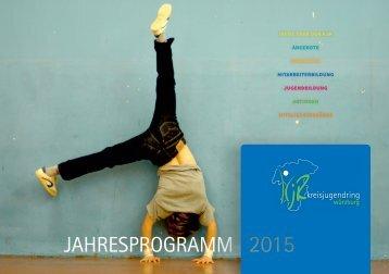 KJR Würzburg Jahresprogramm 2015