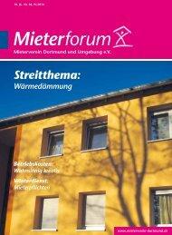 Mieterforum Dortmund - Ausgabe IV/2014 (Nr. 38)
