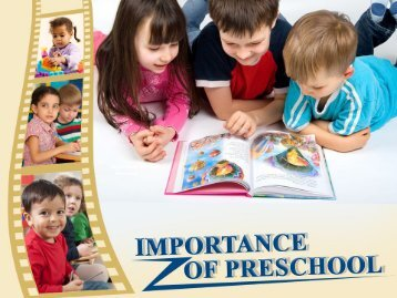 Importance of Preschool in Wentzville