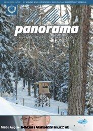 Panorama Alpenmagazin Winterausgabe