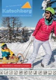 WINTER 2014/15 AKTIVITÄTEN & VERANSTALTUNGEN