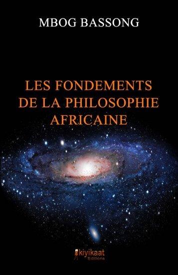 Les Fondements de la philosophie africaine