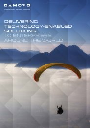 Delivering technology-enabled solutions to enterprises around the world