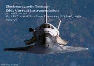 Electromagnetic Testing - Eddy Current Instrumentation