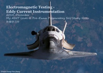 Electromagnetic Testing - Eddy Current Instrumentation
