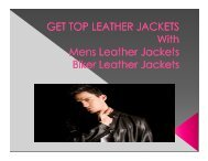 Get Top Leather Jackets