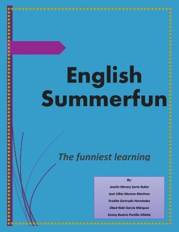 English Summerfun