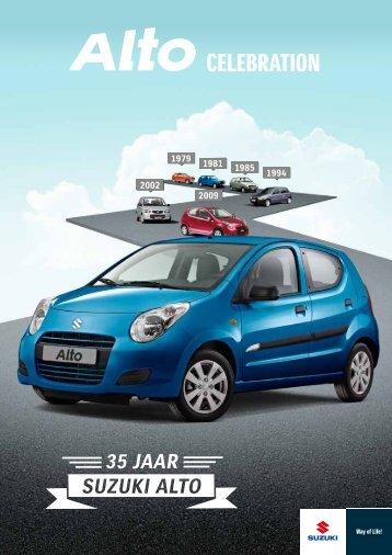 Suzuki Alto Celebration Folder