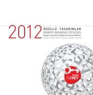 Design Turkey 2012 Ödüllü Tasarımlar Kataloğu