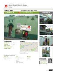 Terreno y casa para demoler, Guadalupe, N.L. Mex.