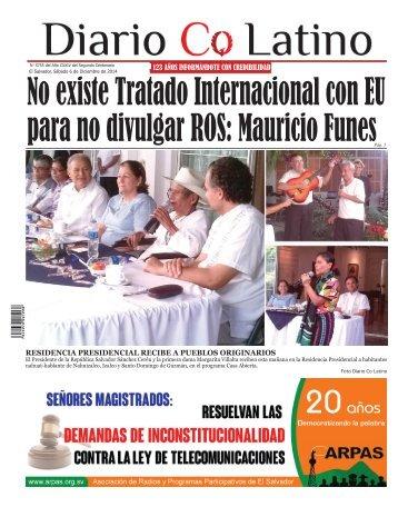 Edición 06 de Diciembre de 2014