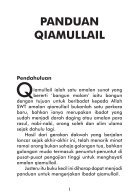 Panduan Qiamullail - Page 5