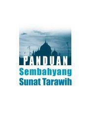 PANDUAN SOlat Tarawikh