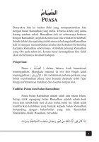 Panduan Puasa Ramadhan - Page 5