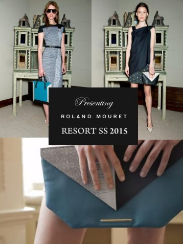 Roland Mouret Resort SS15 Collection