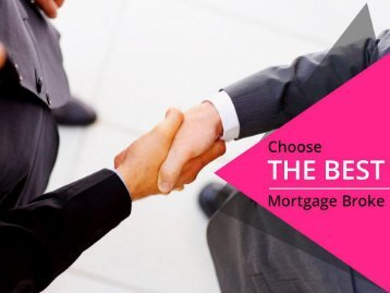 Choose the Best Mortgage Broker in Calgary