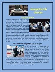 Annapolis Cab Service