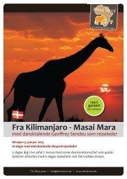 Fra Kilimanjaro - Masai Mara