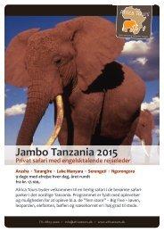 Jambo Tanzania 2015