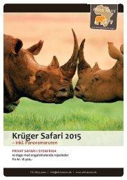 krüger safari 2015