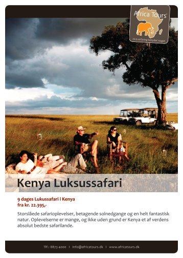 Kenya Luksussafari