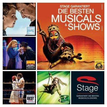 Stage garantiert die besten Musicals & Shows.