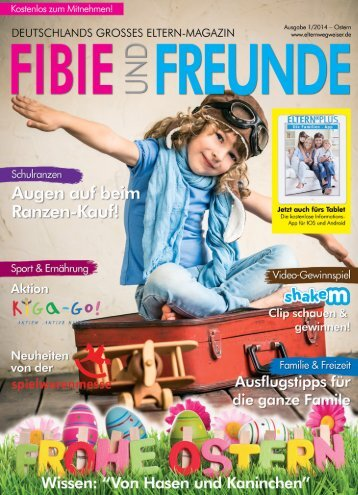 Fibie und Freunde 1/2014