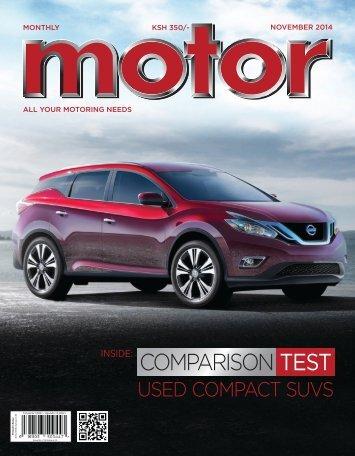 Monthly Motor - November 2014