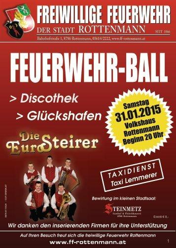 FEUERWEHR-BALL Rottenmann