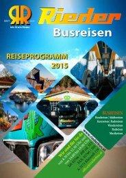 Riederbus Katalog 2015