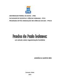 um estudo sobre regularização fundiária ANGÉLICA SANTOS REIS