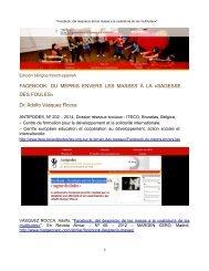 FACEBOOK; DEL DESPRECIO DE LAS MASAS A LA «SABIDURÍA DE LAS MULTITUDES». Dr. Adolfo Vásquez Rocca