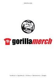 Gorilla Merch Presentation