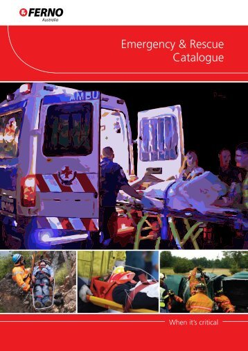 Emergency & Rescue Catalogue - Ferno Australia