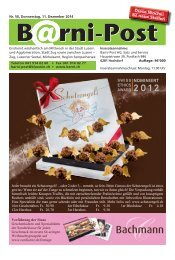 Barni-Post KW 50, 11. Dezember 2014