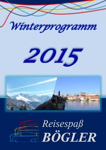 Winterprogramm 2015