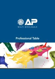 Professional Table