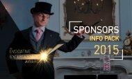 EMA: Awards 2015 - Sponsors Info Pack