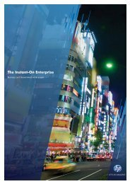 Instant-On Enterprise Business and Government white paper