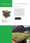 Gründachsystem von 0°-45° Dachneigung Gründachpfannen - Seite 4